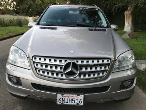 2008 Mercedes-Benz M-Class for sale at Car Lanes LA in Valley Village CA