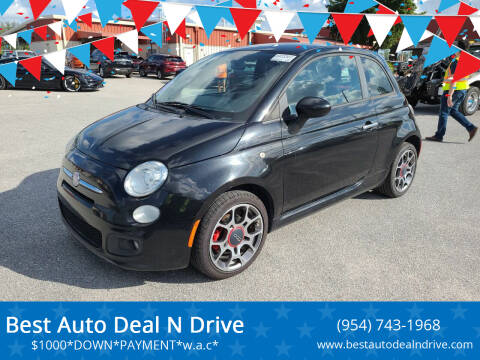 2013 FIAT 500 for sale at Best Auto Deal N Drive in Hollywood FL