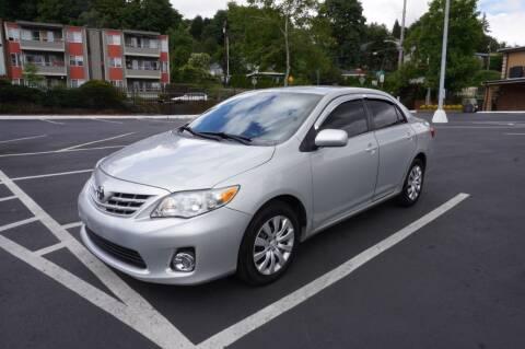 2013 Toyota Corolla for sale at Precision Motors LLC in Renton WA