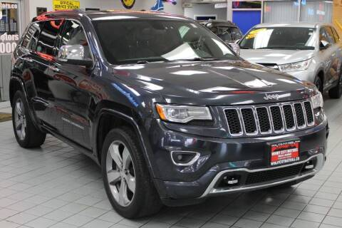 2014 Jeep Grand Cherokee for sale at Windy City Motors in Chicago IL