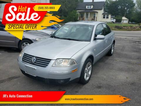 2004 Volkswagen Passat for sale at JR's Auto Connection in Hudson NH