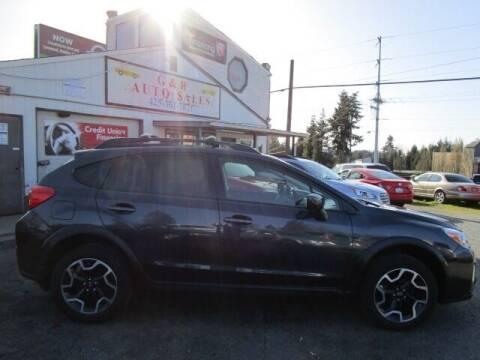 2016 Subaru Crosstrek for sale at G&R Auto Sales in Lynnwood WA
