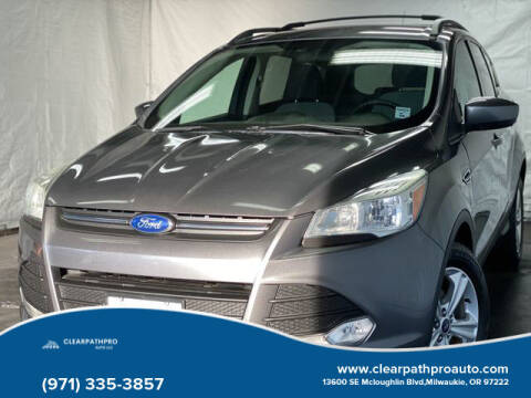 2013 Ford Escape for sale at CLEARPATHPRO AUTO in Milwaukie OR
