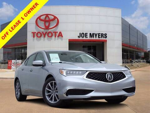 2019 Acura TLX for sale at Joe Myers Toyota PreOwned in Houston TX