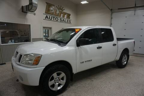 2006 Nissan Titan for sale at Elite Auto Sales in Ammon ID
