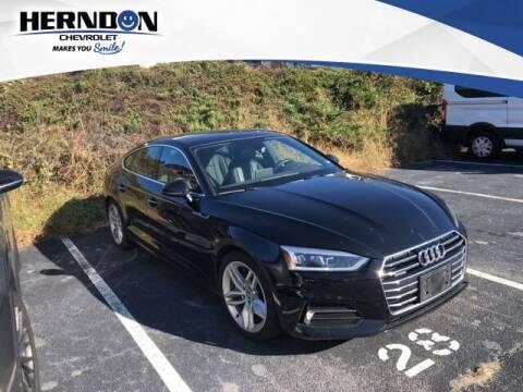 2019 Audi A5 Sportback for sale at Herndon Chevrolet in Lexington SC