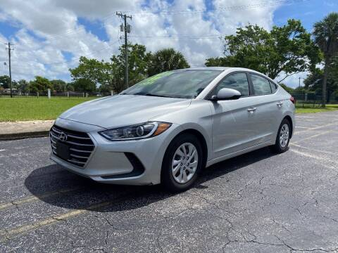 2017 Hyundai Elantra for sale at Lamberti Auto Collection in Plantation FL