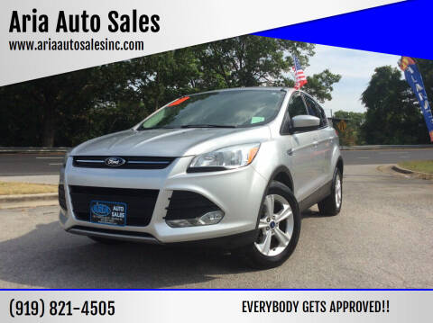 2014 Ford Escape for sale at ARIA  AUTO  SALES in Raleigh NC