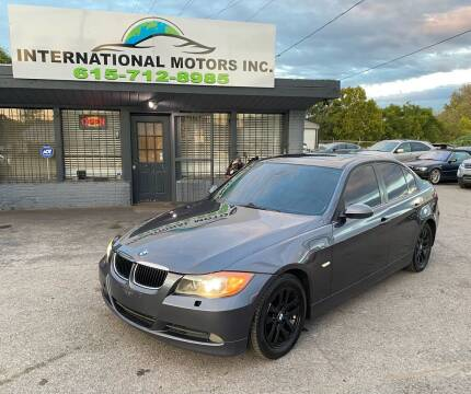 2007 BMW 3 Series for sale at International Motors Inc. in Nashville TN