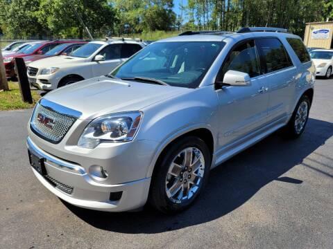 2011 GMC Acadia for sale at GA Auto IMPORTS  LLC in Buford GA