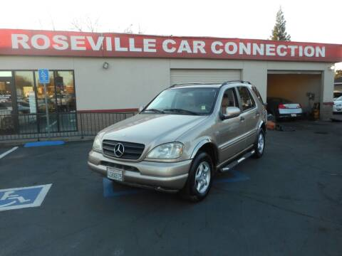 2001 Mercedes-Benz M-Class for sale at ROSEVILLE CAR CONNECTION in Roseville CA