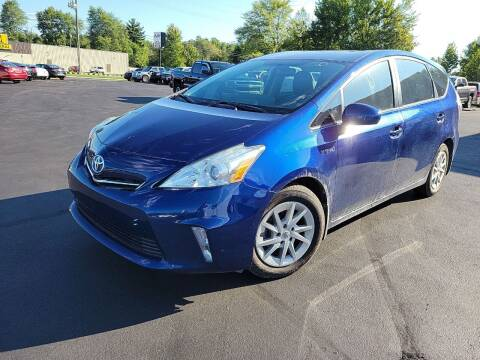 2014 Toyota Prius v for sale at Cruisin' Auto Sales in Madison IN