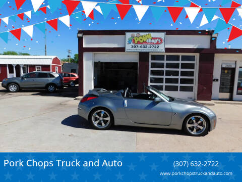 2006 Nissan 350Z for sale at Pork Chops Truck and Auto in Cheyenne WY
