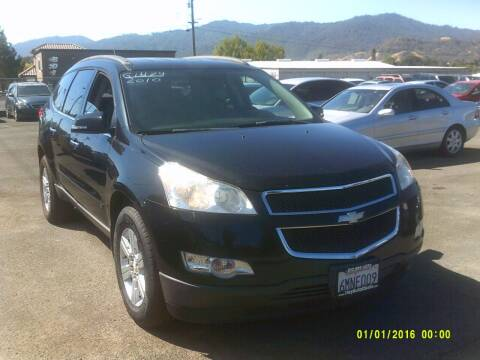 2010 Chevrolet Traverse for sale at Mendocino Auto Auction in Ukiah CA