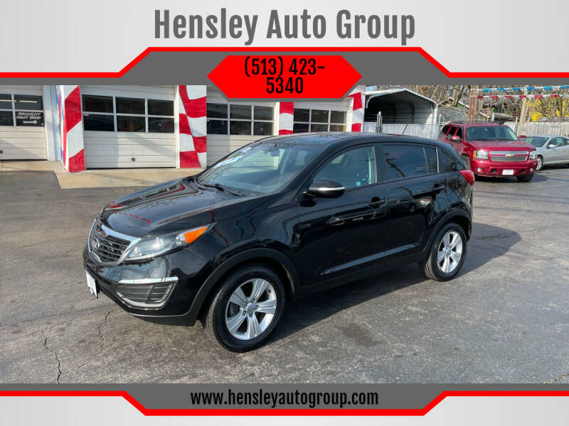 2013 Kia Sportage for sale at Hensley Auto Group in Middletown OH