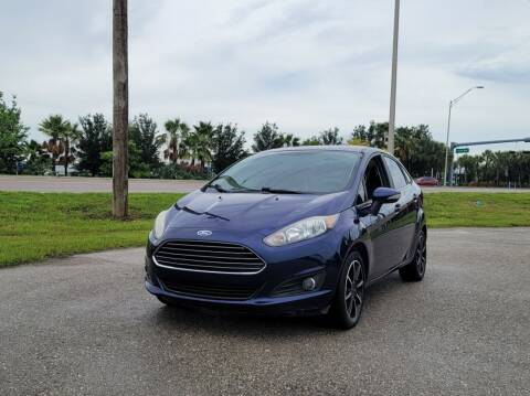 2016 Ford Fiesta for sale at FLORIDA USED CARS INC in Fort Myers FL