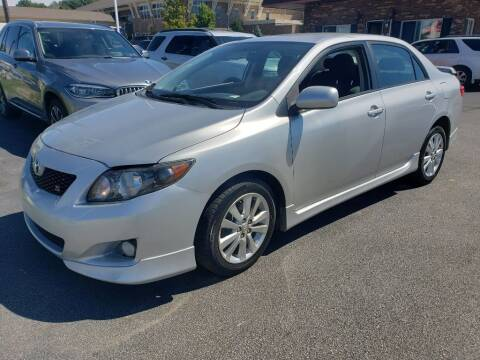 2010 Toyota Corolla for sale at ENZO AUTO in Parma OH