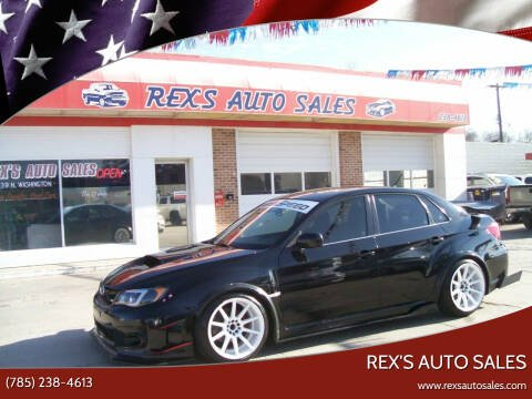 2013 Subaru Impreza for sale at Rex's Auto Sales in Junction City KS