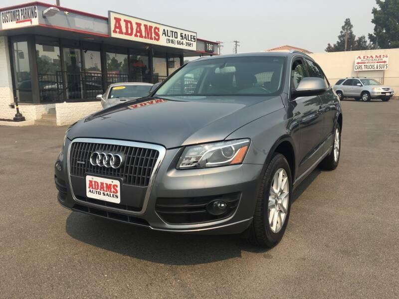 2012 Audi Q5 for sale at Adams Auto Sales in Sacramento CA