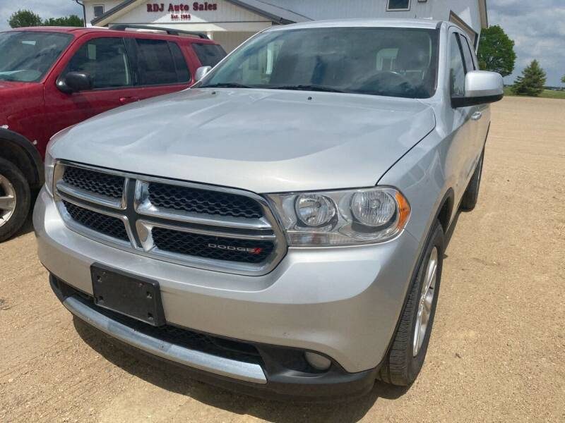 2013 Dodge Durango for sale at RDJ Auto Sales in Kerkhoven MN