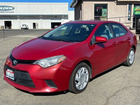 2014 Toyota Corolla for sale at Deruelle's Auto Sales in Shingle Springs CA