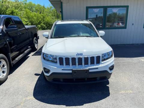 2017 Jeep Compass for sale at Mark Regan Auto Sales in Oswego NY