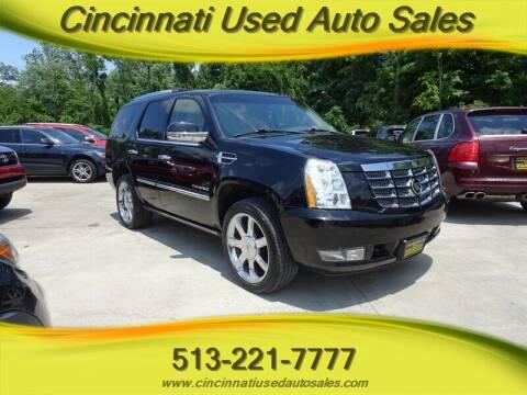 2011 Cadillac Escalade for sale at Cincinnati Used Auto Sales in Cincinnati OH