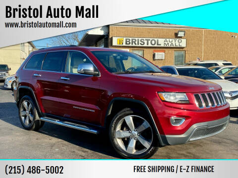 2014 Jeep Grand Cherokee for sale at Bristol Auto Mall in Levittown PA