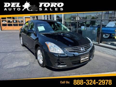 2010 Nissan Altima for sale at DEL TORO AUTO SALES in Auburn WA