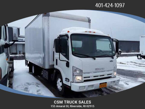 2012 Isuzu NPR HD for sale at CSM TRUCK SALES in Riverside RI