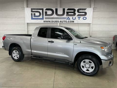 2007 Toyota Tundra for sale at DUBS AUTO LLC in Clearfield UT