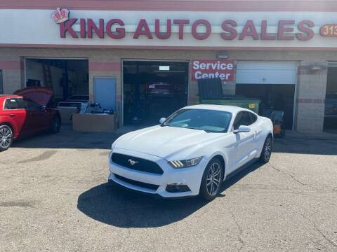 2017 Ford Mustang for sale at KING AUTO SALES  II in Detroit MI