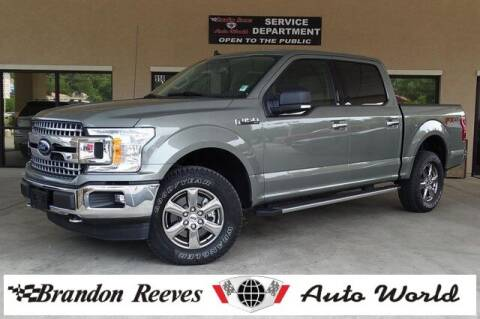 2020 Ford F-150 for sale at Brandon Reeves Auto World in Monroe NC