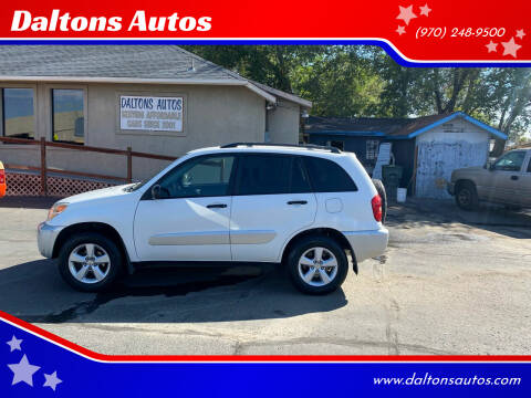 2004 Toyota RAV4 for sale at Daltons Autos in Grand Junction CO