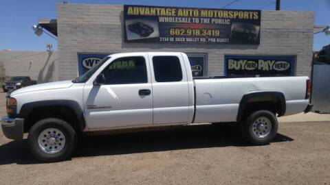 2005 GMC Sierra 2500HD for sale at Advantage Motorsports Plus in Phoenix AZ