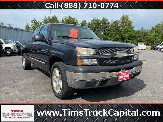 2004 Chevrolet Silverado 1500 for sale at TTC AUTO OUTLET/TIM'S TRUCK CAPITAL & AUTO SALES INC ANNEX in Epsom NH