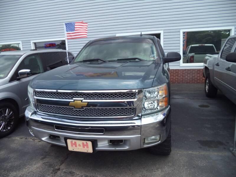 2012 Chevrolet Silverado 1500 for sale at H and H Truck Center in Newport News VA