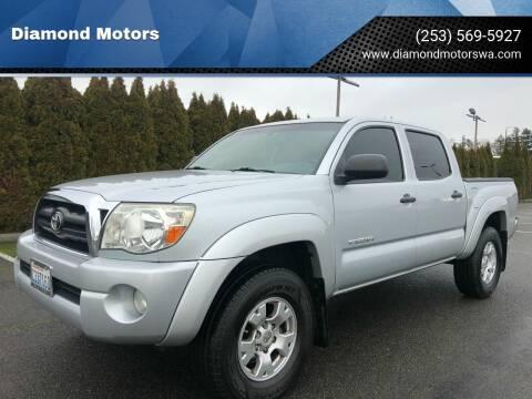 2005 Toyota Tacoma for sale at Diamond Motors in Lakewood WA