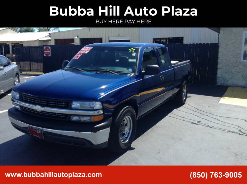 2002 Chevrolet Silverado 1500 for sale at Bubba Hill Auto Plaza in Panama City FL