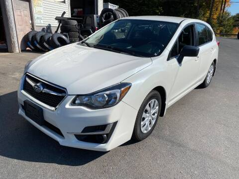 2016 Subaru Impreza for sale at Route 4 Motors INC in Epsom NH