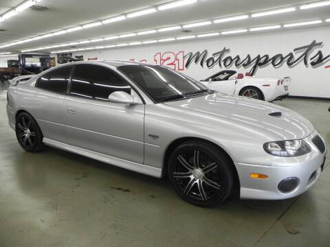 2006 Pontiac GTO for sale at 121 Motorsports in Mount Zion IL