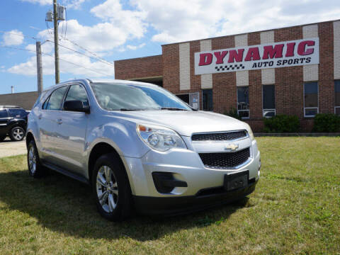 2013 Chevrolet Equinox for sale at DYNAMIC AUTO SPORTS in Addison IL