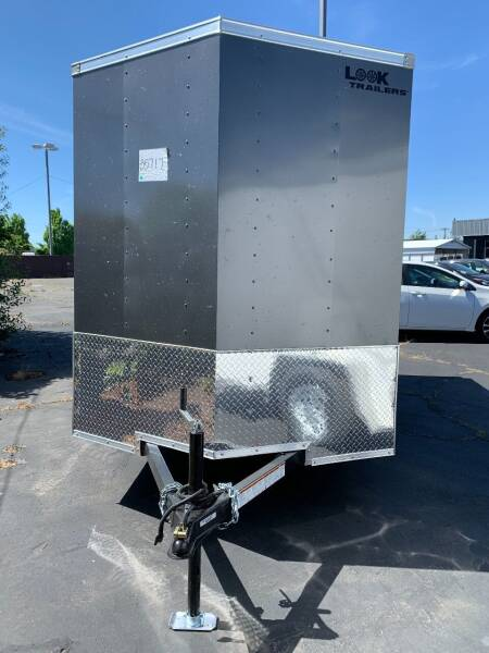 2022 Look Cargo Trailer LSCBA6.0X12S12FE for sale at Siamak's Car Company llc in Salem OR
