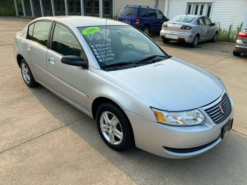2006 Saturn Ion for sale at CarNation Auto Group in Alliance OH