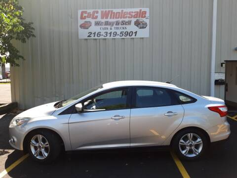 2014 Ford Focus for sale at C & C Wholesale in Cleveland OH