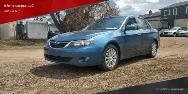 2009 Subaru Impreza for sale at Infinite Leasing LLC in Lastrup MN