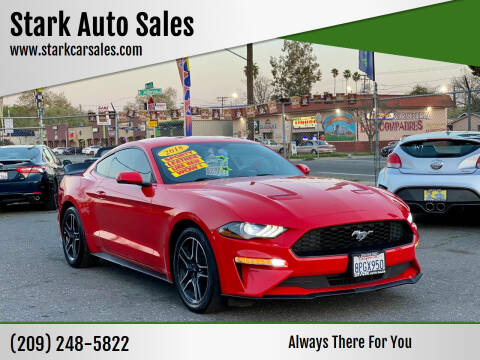 2018 Ford Mustang for sale at Stark Auto Sales in Modesto CA