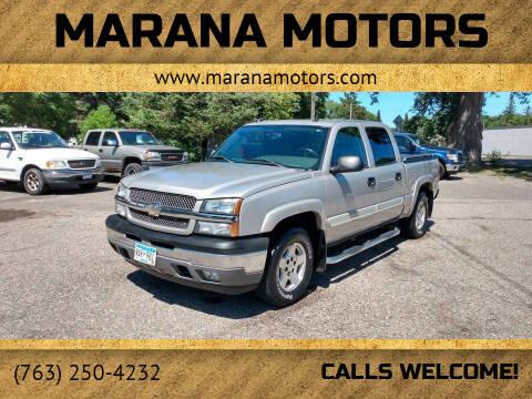 2005 Chevrolet Silverado 1500 for sale at Marana Motors in Princeton MN