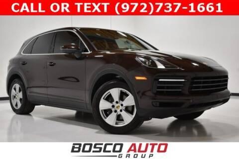 2019 Porsche Cayenne for sale at Bosco Auto Group in Flower Mound TX