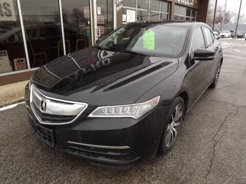 2015 Acura TLX for sale at Arko Auto Sales in Eastlake OH
